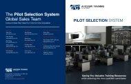 2012 Pilot Selection System Brochure - ETC's Aerospace Solutions