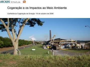 Cogeração e os Impactos ao Meio Ambiente - Cogen