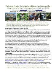Flyer for 2012 Tanzania Education Abroad Program - Stuckeman
