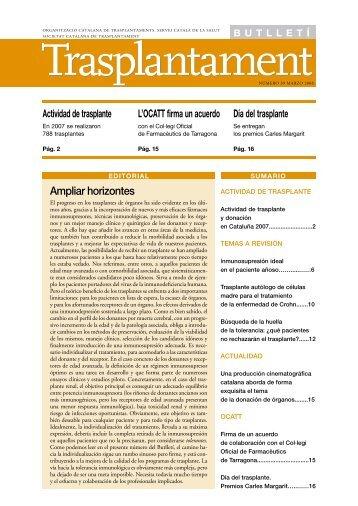 castellano - Societat Catalana de Trasplantament