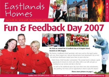 issue 19 - Eastlands Homes