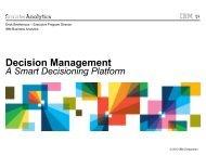 Decision Management - Predictive Analytics World