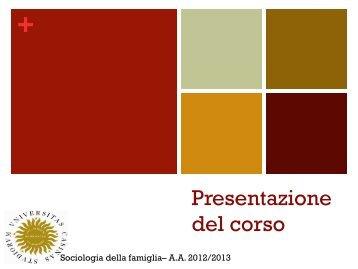 introduzione al corso 26 marzo 2013 - Docente.unicas.it