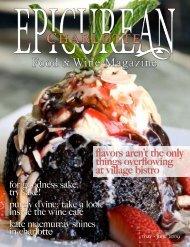 May/June 2009 - Epicurean Charlotte Food & Wine Magazine