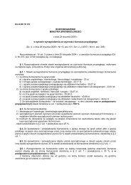 Rozporządzenie Ministra Sprawiedliwości z dnia 24 stycznia 2005 r ...
