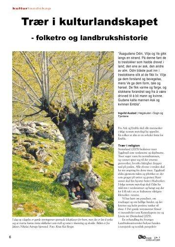 Trær i kulturlandskapet