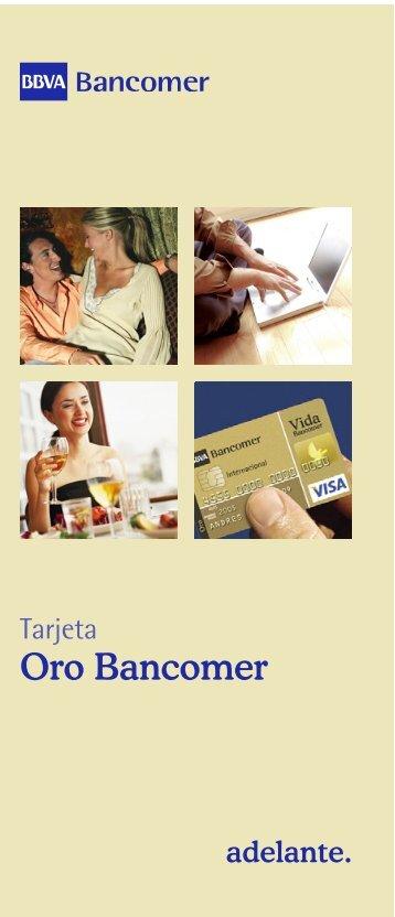 Oro Bancomer - Bancomer.com