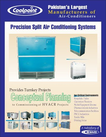 Precision Split Air Conditioning Systems - Cool Point