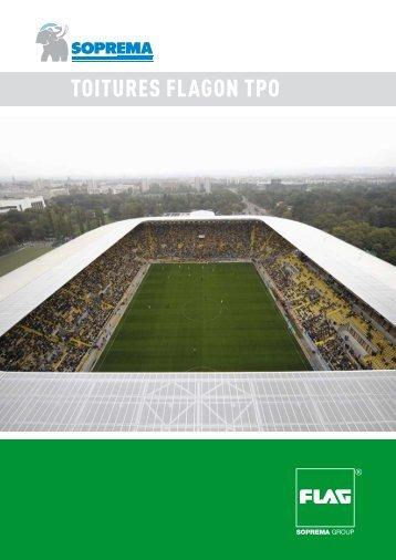 TOITURES FLAGON TPO - Soprema
