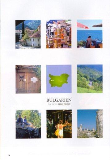 BULGARIEN - Gerner Thomsen
