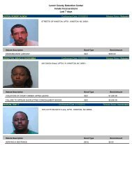Updated Jan. 19: Mugshots of people arrested in Lenoir County