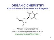 + H - Wits Structural Chemistry