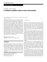 A variational constitutive model for porous metal plasticity - Solid ...