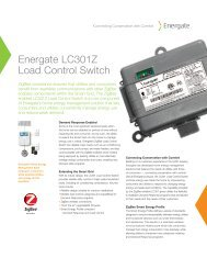 Energate LC301Z Load Control Switch - Silver Spring Networks