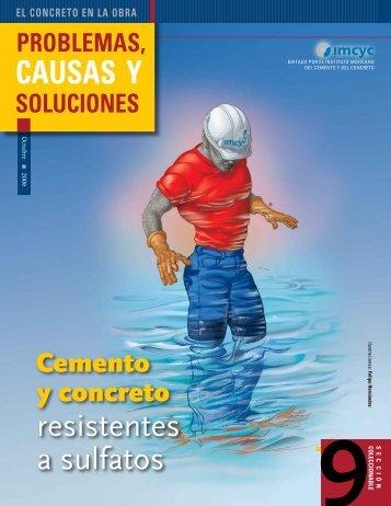 Cemento y concreto resistentes a sulfatos - Instituto Mexicano del ...