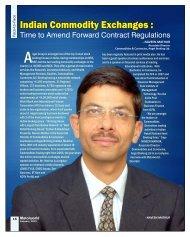 Indian Commodity Exchanges - Metalworld