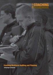 coaching - sports coach UK