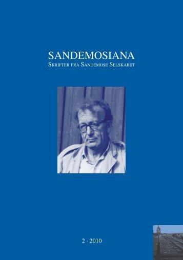 SANDEMOSIANA - Aksel Sandemose Selskabet.