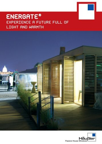 energate® experience a future full of light and warmth