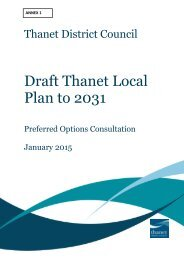 Annex 1- Final Thanet Preferred Option Draft Local Plan Inovem Inc Appendices