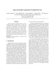 Improved Parallel Composition of Labelled Petri Nets - Computing ...