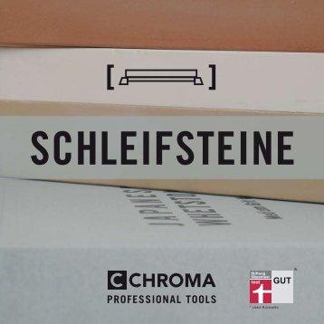 CHROMA Schleifstein Katalog - Messer