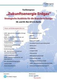 """Fachkongress: """"Zukunftsenergie Erdgas"""" - Pfalzwerke"""