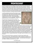 May 19, 2013 – Pentecost Sunday - Parish of the Holy Cross - Page 3