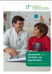 Jahresbericht der Kinder- und Jugendmedizin 2009