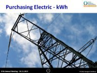 Electric Procurement PowerPoint - Ohio Hospital Association