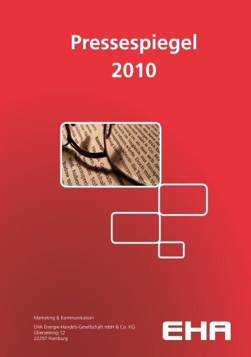 Pressespiegel 2010 - EHA