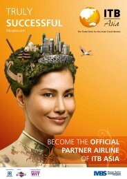 Official Partner Airline - ITB Asia