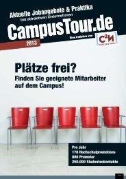 2013 - CampusTour.de