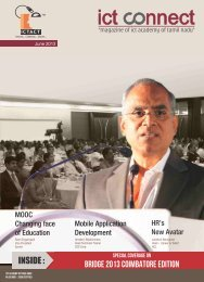 Volume 1 - Issue 8 - ICTACT.IN