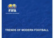 trends of modern football - Oregon Youth Soccer Association