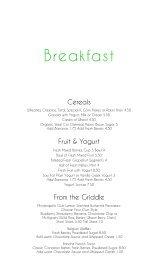 Breakfast - Minneapolis Club