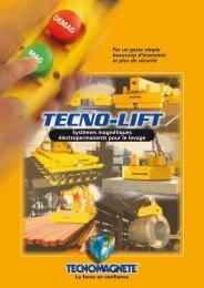 Télécharger catalogues Tecnolift (format .pdf) - Tecnomagnete S.p.A.