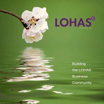 LOHAS 12 - Boulder Colorado - June 2008 - Wuttke Group LLC