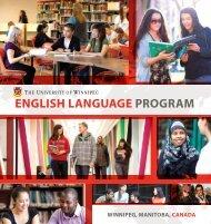 English languagE Program - University of Winnipeg