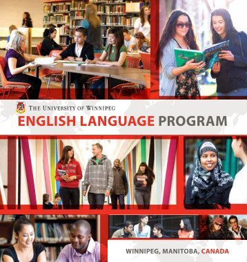 English languagE Program - University of Winnipeg