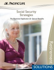 Social Security Restricted Application - Pacific Life