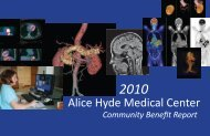 Our Mission - Alice Hyde Medical Center