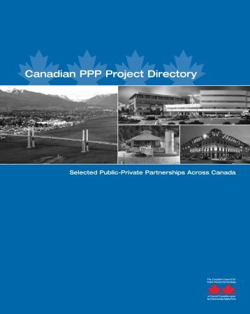 Canadian PPP Project Directory - The Canadian Council for Public ...