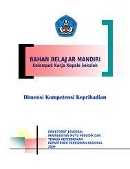 BAHAN BELAJAR MANDIRI Kelompok Kerja ... - Guru Indonesia