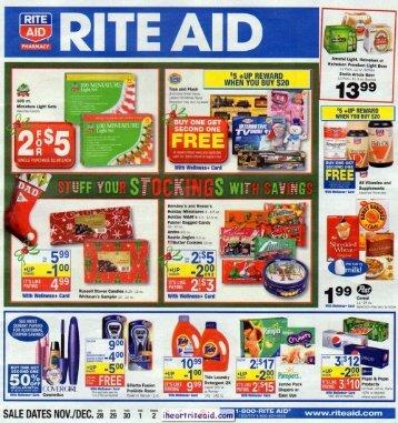 i heart rite aid: 11/28-12/04 ad