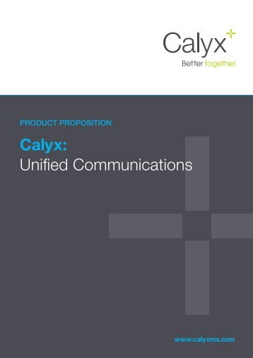 Unified Communications Proposition