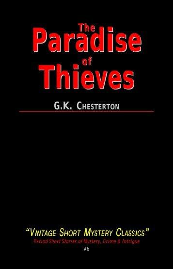 Paradise Thieves Paradise Thieves - Hornpipe Vintage Publications