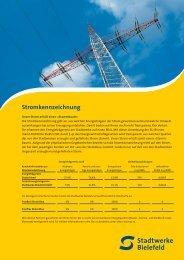 Stromkennzeichnung - Stadtwerke Bielefeld