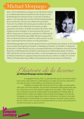 L'histoire de la licorne - Global Campaign for Education