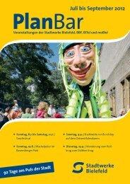 PlanBarJuli bis September 2012 - Stadtwerke Bielefeld
